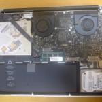 MacBook Pro 17inch(Mid 2010) : SSDへの換装