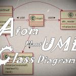 AtomとPlantUMLでクラス図を書く方法