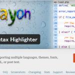 [WordPressプラグイン]Crayon Syntax Highlighterの全テーマ・全フォント・全プログラム言語