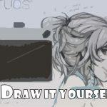 [Windows]Intuos Drawを買ったった! PC&お絵描きタブレットで絵や字を書くための最初の一歩目