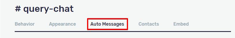 smallchat-auto-messages