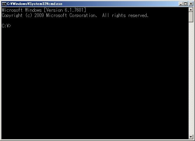 コマンド プロンプト dos画面 DOSプロンプト