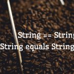 java == equals string compare
