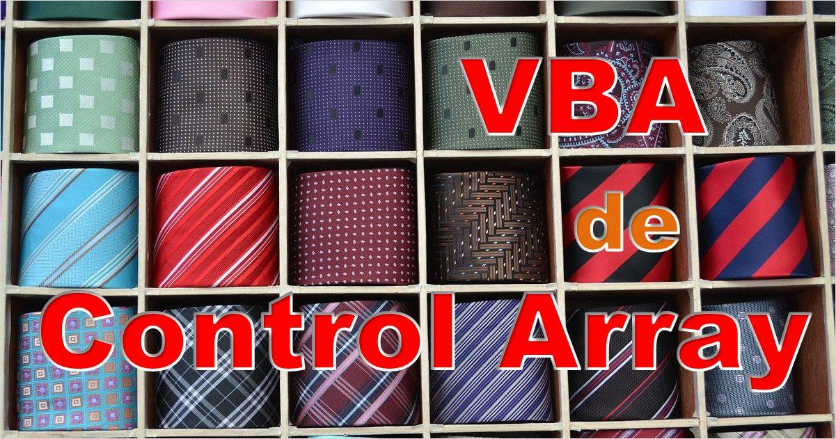VBAでコントロール配列
